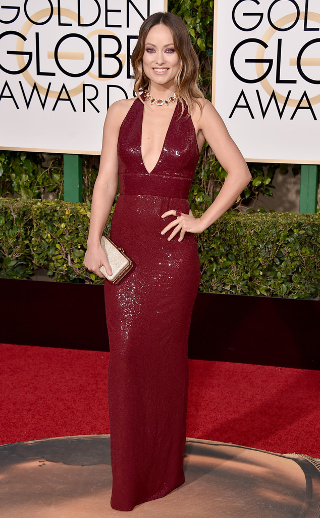 Golden-Globe-Awards-2016-olivia-wilde-michael-kors-collection