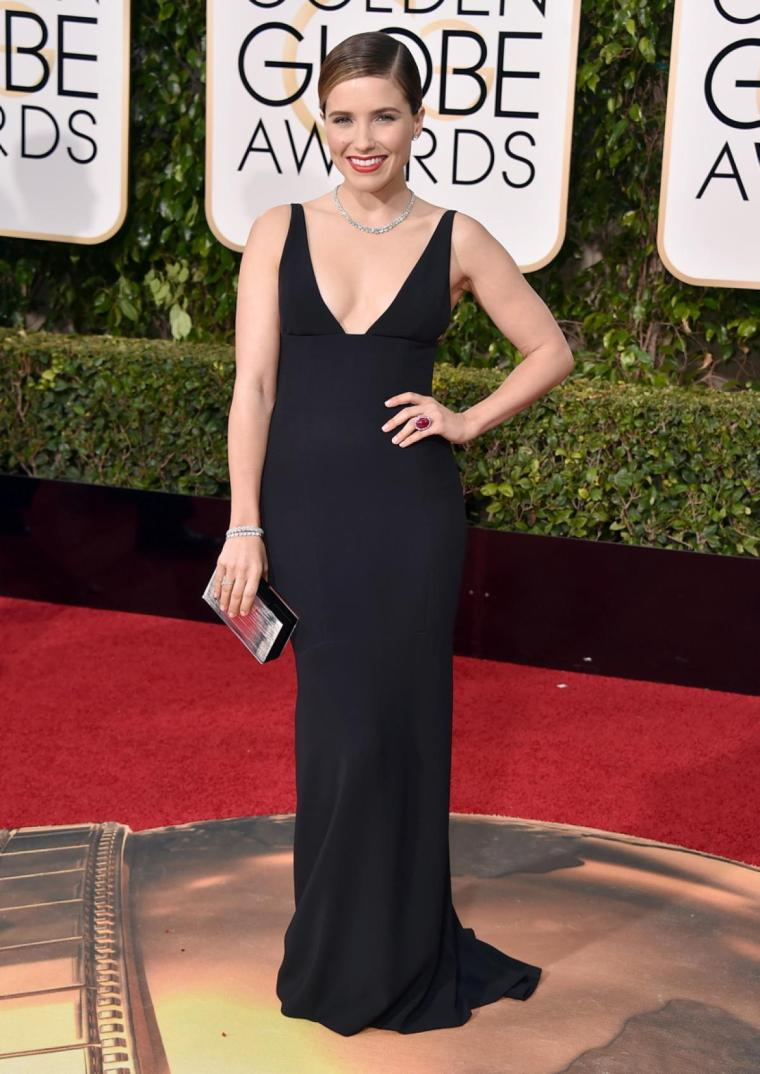 Golden-Globe-Awards-2016-sophia-bush-Narciso-Rodriguez