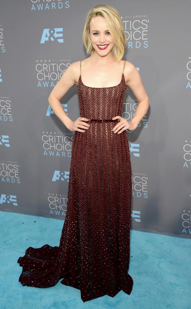 red-carpet-arrivals-Rachel-McAdams-Critics-Choice-Awards-2016-Elie-Saab