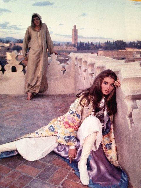 talitha-getty-pioneer-boho-chic-hippie-pinterest-morocco-ysl-yves-saint-laurent