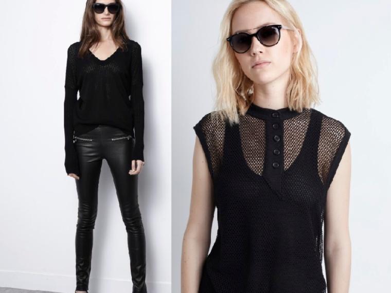 Cyber-Punk-InStyle-SS16-Trend-Spring-Summer-Leather-Jacket-Pants-Legging-Zadig-Voltaire-Brand-Fishnet-Sandals-Skirt-Black