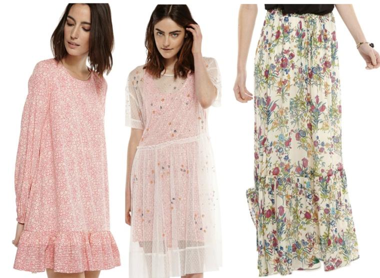 InStyle-SS16-Trend-Summer-Spring-English-Rose-Essentiel-Antwerp-Belgian-Brand-Print-Flower-Dress-Flimsy-Tulle-Maxi-Skirt