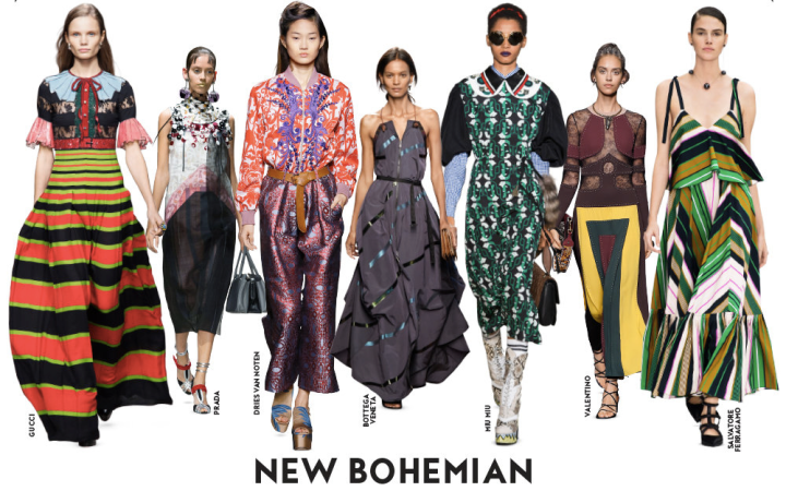 SS16-Trend-InStyle-Brand-Bohemian-New-Boho-Hippie-Chic-Maxi-Dress-Pants-Skirt-Pleated-Print-Flimsy-Dots-Flowers
