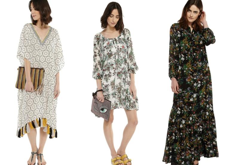 SS16-Trend-InStyle-Essentiel-Antwerp-Belgian-Brand-Bohemian-New-Boho-Hippie-Chic-Maxi-Dress-Pants-Skirt-Pleated-Print-Flimsy-Dots-Flowers-Kaftan