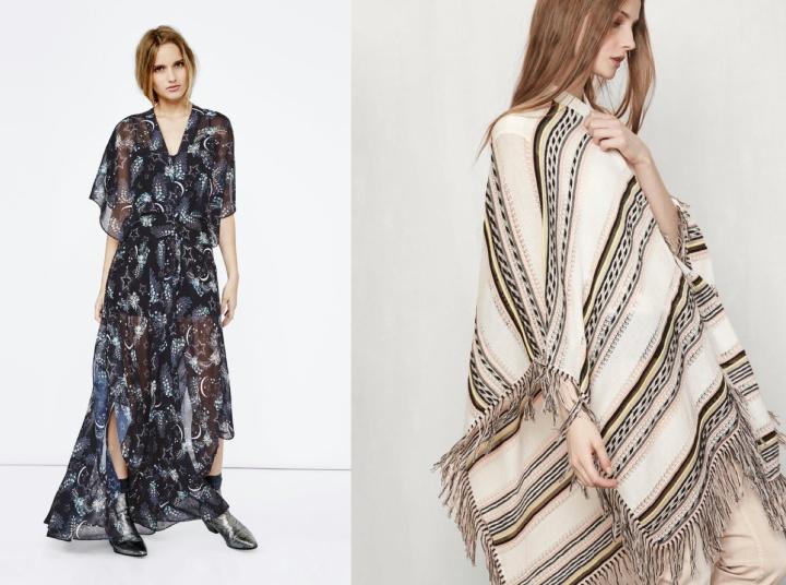 SS16-Trend-InStyle-Maje-Belgian-Brand-Bohemian-New-Boho-Hippie-Chic-Maxi-Dress-Pants-Skirt-Pleated-Print-Flimsy-Poncho-Kimono