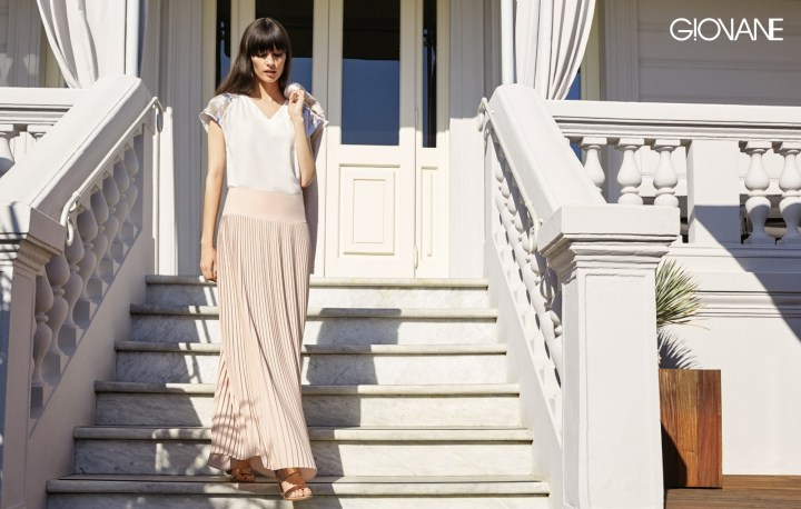 Wishlist-Special-Belgium-Belgian-Giovane-Maxi-Skirt-Pink-Pleated-brand