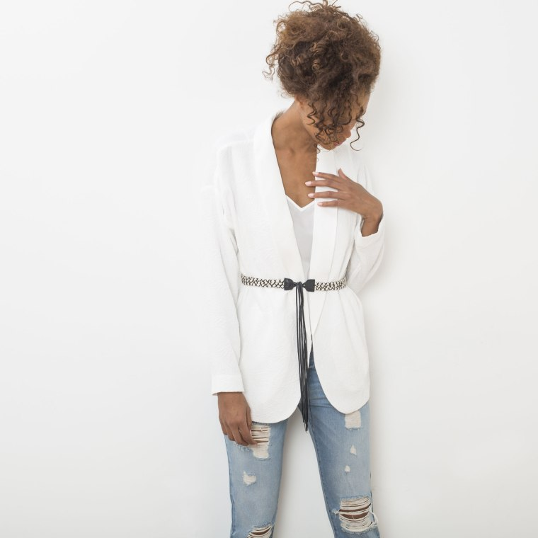 IKKS-White-Wishlist-Kimono-Jacket-Business-Meeting-Work-Appropriate