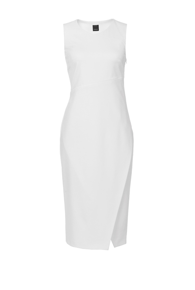 White-Wishlist-Dress-Pinko-Business-Meeting-Work-Appropriate-Italian-Brand