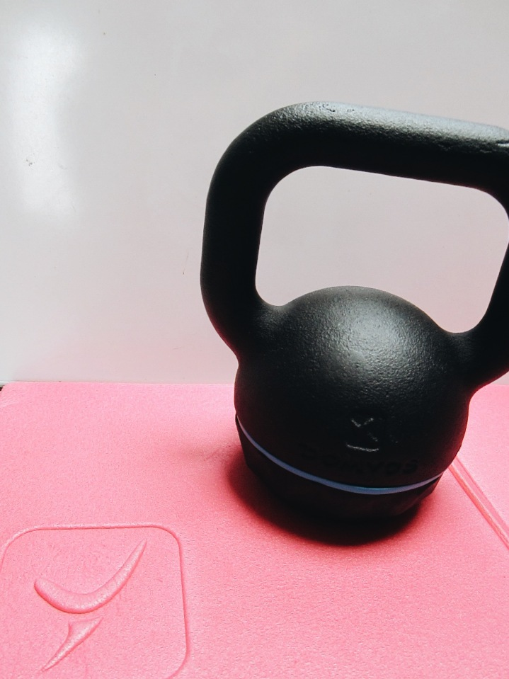 Decathlon-domyos-workout-gym-sports-september-sweat-kettlebell-accessory-material-8-kg
