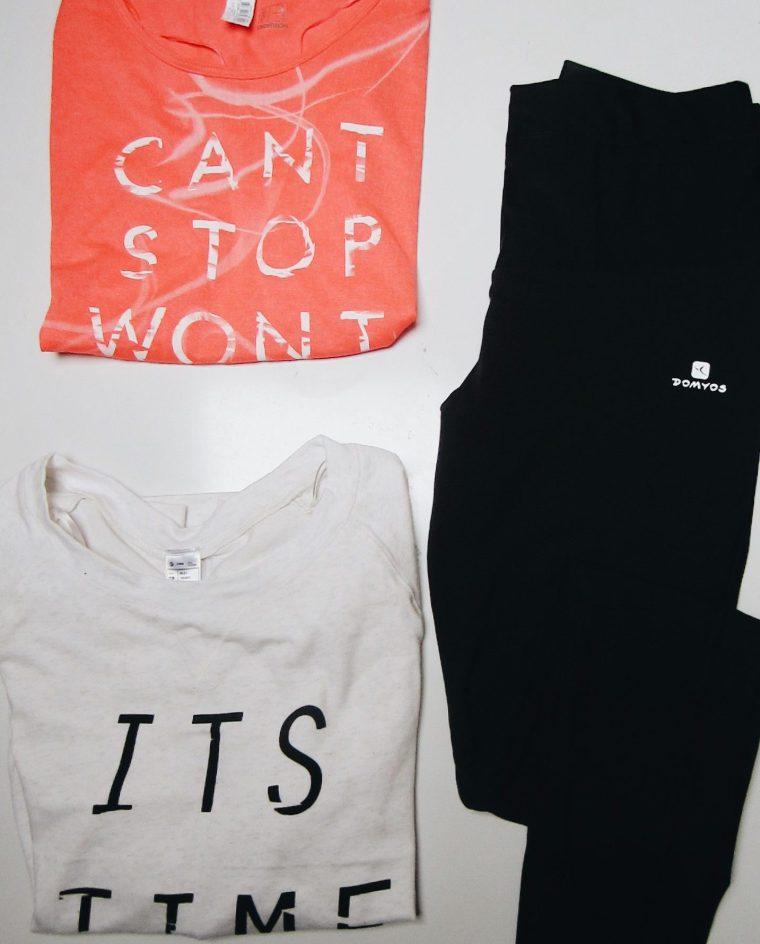 Decathlon-workout-gym-sports-september-sweat-flatlay-sweater-t-shirt-legging-leggings-bra-sports-kettlebell-domyos