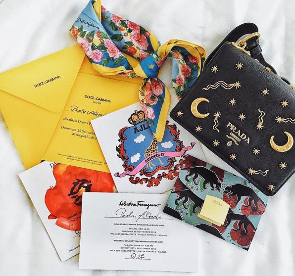 london-fashion-week-lfw-milan-paris-pfw-lfw-big-trends-instagram-bloggers-blankitinerary-paola-alberti-invitations