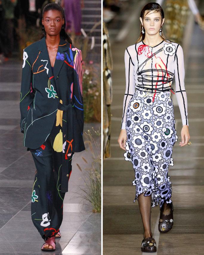 london-fashion-week-lfw-milan-paris-pfw-lfw-big-trends-instyle-graphic-garden-prints-report