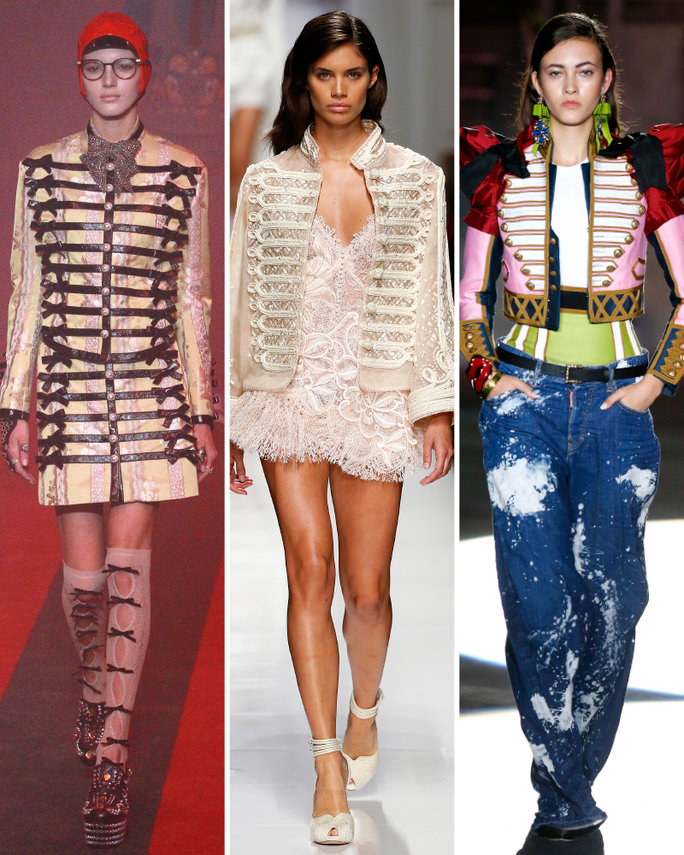 london-fashion-week-lfw-milan-paris-pfw-lfw-big-trends-instyle-marching-band-jacket-report