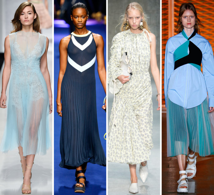 london-fashion-week-lfw-milan-paris-pfw-lfw-big-trends-instyle-micro-pleating-report