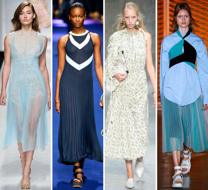 london-fashion-week-lfw-milan-paris-pfw-lfw-big-trends-instyle-micro-pleating-report