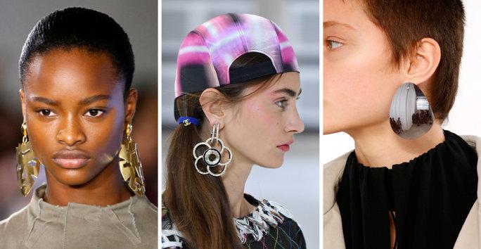 london-fashion-week-lfw-milan-paris-pfw-lfw-big-trends-instyle-statement-metal-earrings-earring-report