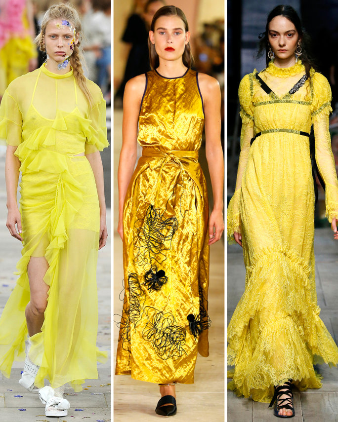 london-fashion-week-lfw-milan-paris-pfw-lfw-big-trends-instyle-yellow-again-report