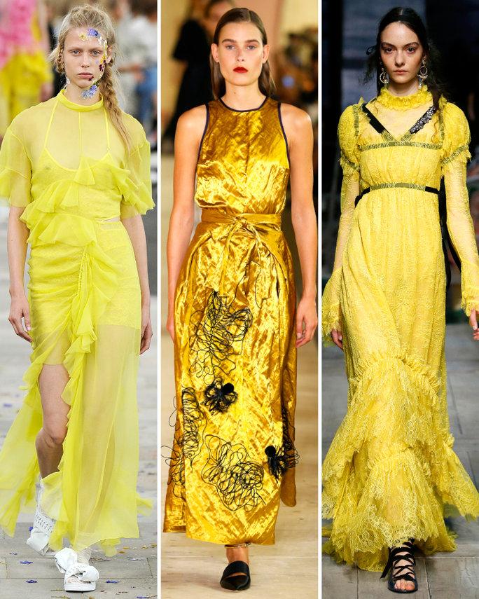 london-fashion-week-lfw-milan-paris-pfw-lfw-big-trends-instyle-yellow-again-report