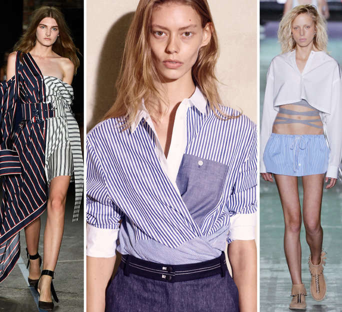 nyfw-new-york-fashion-week-recap-big-report-trend-trends-instyle-button-down-shirt-with-a-twist