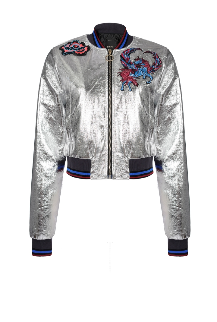 pinko-italian-silver-bomber-jacket-belgian-fashionista-french-brand-silver-techno-times-trend-autumn-winter-automne-hiver-2016-2017-aw1617-tendance-tendances-trends