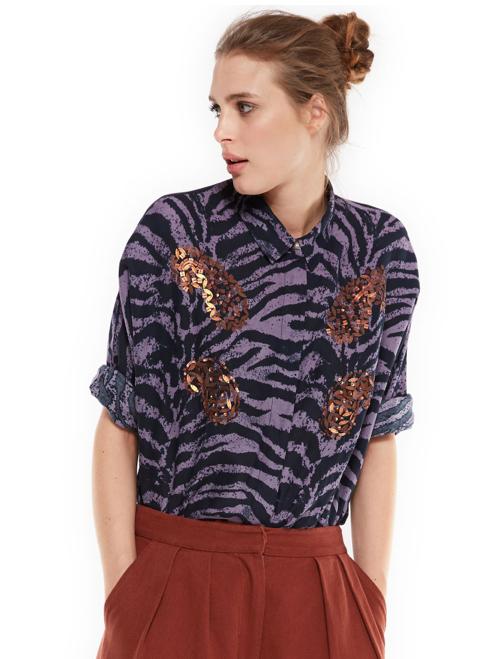essentiel-antwerp-blouse-shirt-purple-matilda-glitter-zebra-belgian-fashionista-french-brand-silver-into-the-wild-animal-print-trend-autumn-winter-automne-hiver-2016-2017-aw1617-tendance-tendances-tre