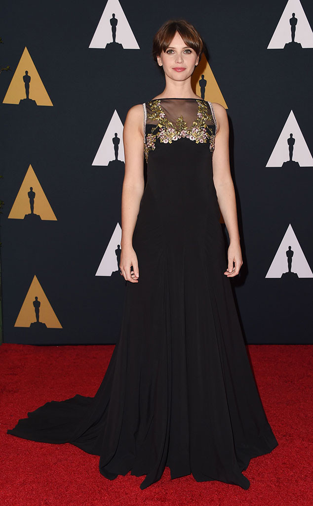 governors-awards-2016-red-carpet-arrivals-top-10-best-dressed-felicity-jones