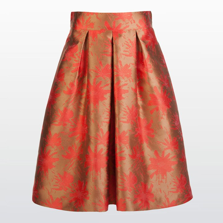 festive-season-outfit-limited-edition-skirt-jacquard-holidays-christmas-new-year-eve-belgian-brand-xandres-hampton-bays