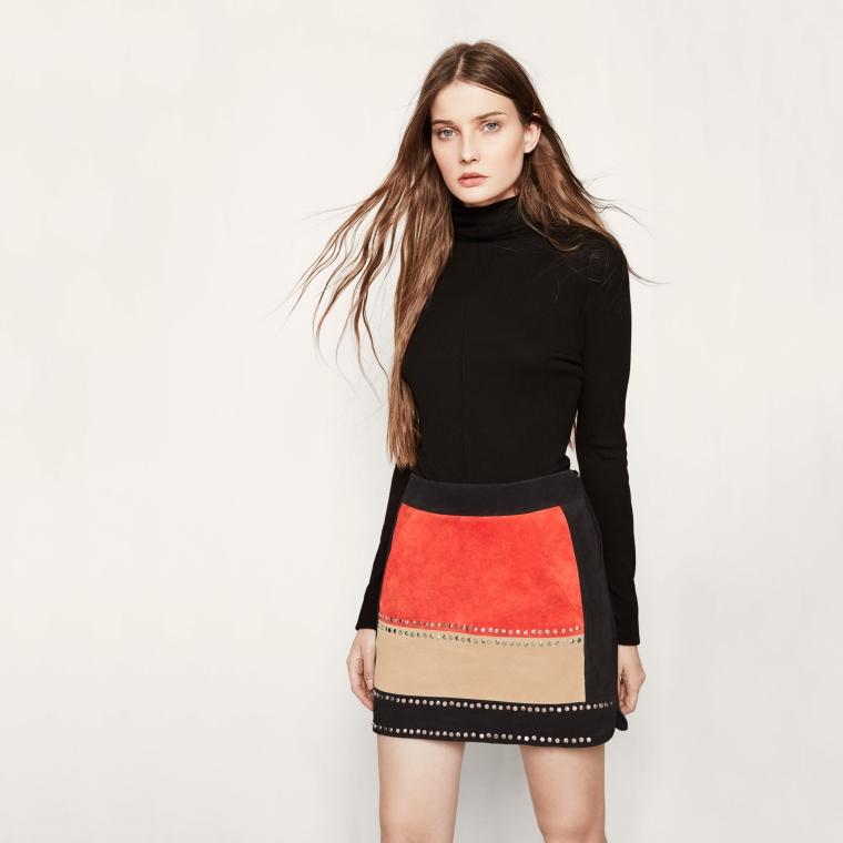 maje-brand-russian-baroque-trend-autumn-winter-trend-aw1617-belgian-fashionista-fashion-blog-blogueuse-belge-mode-jastrid-short-skirt-velvet
