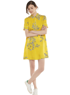 la-la-land-dress-emma-stone-ryan-gosling-mia-movie-how-to-blue-colorful-retro-yellow-neha-essentiel-antwerp-short-belgian-brand