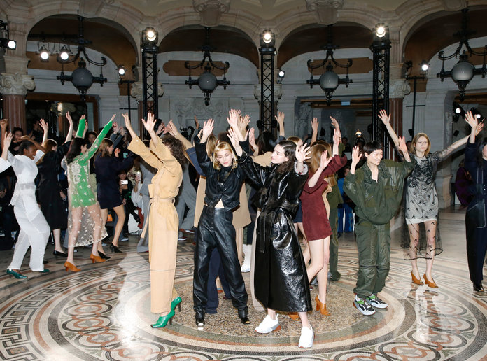 paris-fashion-week-pfw-trend-sparkle-boots-runway-instyle-blogger-blog-Stella-McCartney-Models-Faith-George-Michael-Tribute-Dance-InStyle.jpg