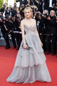 Diane Krüger in Dior (Photo Credit: Vogue)