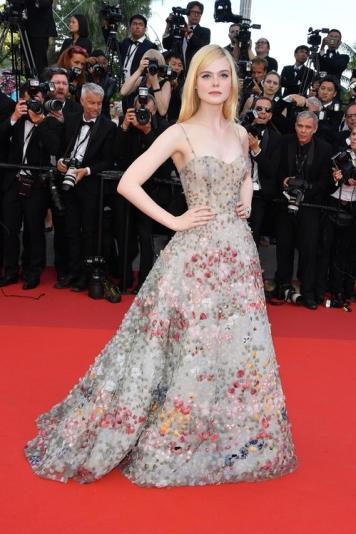 Elle Fanning in Dior (Photo Credit: Vogue)