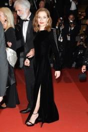 Isabelle Huppert in Saint Laurent (Photo Credit: Vogue)