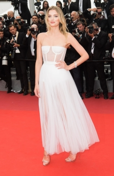 Lily Donaldson in Dior (Photo Credit: Vogue)