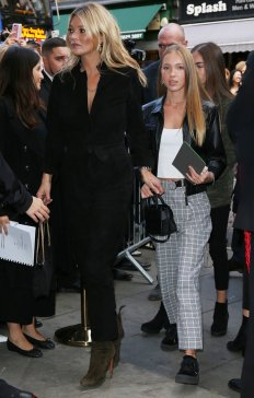 Kate Moss and Lili Grace (Photo Credit: InStyle)
