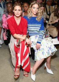 Olivia Palermo and Jaime King (Photo Credit: InStyle)