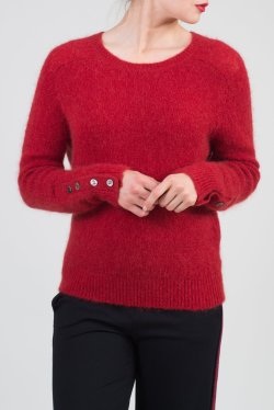 A button cuff pullover (Photo Credit: Just in Case)