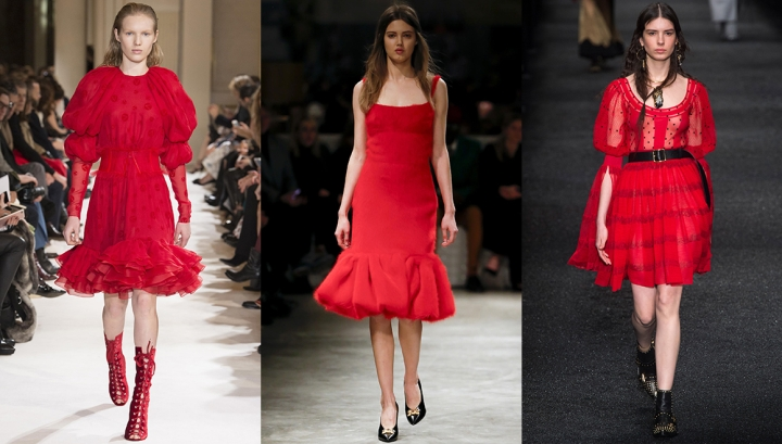 How To Wear the Fall-Winter 17-18 Trends? Red Edition
