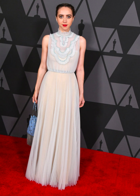 Governors-Awards-2017-Best-dressed-red-carpet-arrivals-season-top-10-hollywood-november-actors-cinema-movie-star-celebrity-style-fashion-blogger-belgian-haute-couture-zoe-kazan